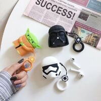 3D Star Wars Silicone Earphone Protective Cover For Apple Airpods Charging Case