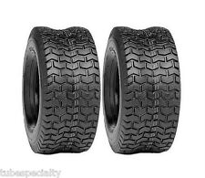 TWO New 13x5.00-6 LAWN TURF TIRES 4 Ply Tubeless for Garden Tractor Rider Mower