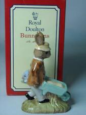 Royal Doulton GARDENER Bunnykins + Box 6 Photos DB156