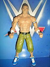RARE JOHN CENA FIGURE WWE MATTEL 2010 FLEXFORCE BLUE SNEAKERS NXT WRESTLING TOY