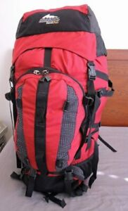 Gregory Denali PRO 105 liter RED Backpack Expedition Hiking Harness Medium