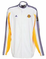 2009 Kobe Bryant Game Worn Lakers NBA Finals Warmup w Finals Trophy Patch LOA