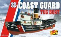 Lindberg US Coast Guard Tug Boat 1:72 scale ship model kit new 228