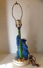 Vintage Sesame Street Cookie Monster Lamp 1979