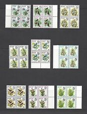 FIJI 1971-72 SG 435/50 MNH Blocks of 4 Cat £160