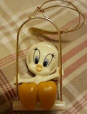 LENOX WARNER BROS TWEETY SWINGS INTO CHRISTMAS ORNAMENT