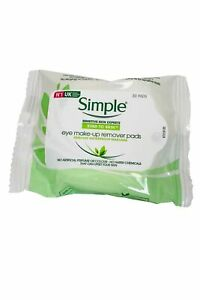 Simple Eye Make Up Remover Pads 30 Pads