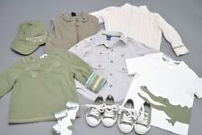 BabyGap Janie and Jack Green Alligator Lot 12-24 Mo Shirts, Sweater, Hat, Shoes