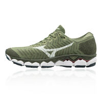 Mizuno Womens Sky Waveknit S1 Running Shoes Trainers Sneakers Green Sports