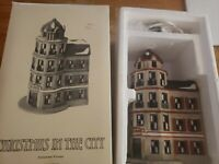 Classic Department 56 TOWER CAFE 6512-9 CHRISTMAS In The CITY Retired Mint