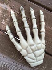 Skeleton Boney Hand Hard Plastic Detailed Halloween Decoration Prop NEW