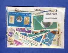 Equateur - Ecuador 100 timbres différents