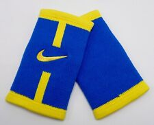 Nike Stealth Doublewide Wristbands Court Logo Game Royal/Varsity Maize
