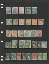 Portugal 19th and 20th Century Collection / Accumulation used stamps 6 Pages.