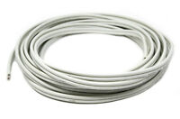 2 Conductor 25' FT 12 Gauge White Marine Wire Speaker Cable 100% Tinned Copper