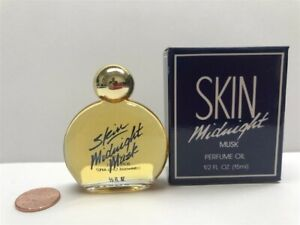 Skin Midnight Musk by Bonne Bell 0.5 oz/15 ml Perfume Oil, Discontinued! Rare!