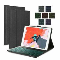 QWERTZ Für iPad 7th Gen 2019 10.2 Tastatur Beleuchtet Schutzhülle Case Cover