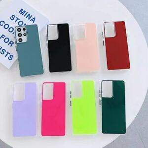 Case For Samsung Galaxy S21 S20 Note 20 A21S Ultra Plus Shockproof TPU Acrylic