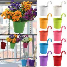 10 Pièces Petit Pot De Fleur métal Plante Jardin Bureau Balcon MAISON Décoration