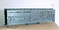 HOn3 D&RGW narrow gauge singledeck stockcars MRGS kit #100-6 6 PACK, no trucks,