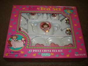 D.W.Ceramic Tea Set with New in Box