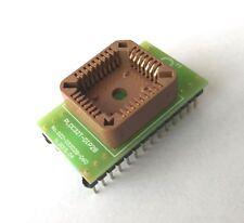 """PLCC32T to DIP28 0.6"""" adapter. [UK]"""