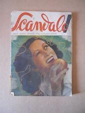 SCANDALO! Rara Pubblicazione erotica anni 40 con fumetto Nino Piffarerio [G509]