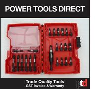 NEW MILWAUKEE IMPACT SET 48-32-4406 24 PIECE IMPACT DRIVER SET - GEN AUST STOCK