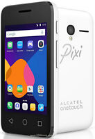 "Brand New Alcatel Pixi 3 - 3.5"" Screen Android 4.4 Smartphone - Black - Unlocked"