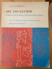 Art and Illusion by E H Gombrich Study in the Psychology of Pictorial Represent