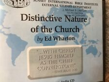 Distinctive Nature Of The Church. 12 Lessons On 6 Cds~ Edward Wharton
