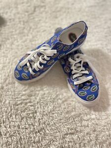 Row One Florida Gators Converse Style Sneakers Size 8 Women 6.5 Men Official