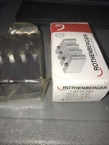 """Rothenberger 00028 NPT Thread Die 1-2"""" A 01"""