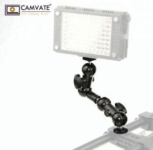 Flex DSLR DOUBLE camera mount clamp 360 1/4 Thread