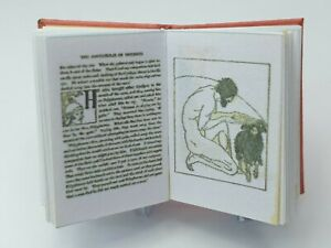 1/12 scale Book, Odysseus and Tales of Troy,1920  ,Crafted by Ken Blythe