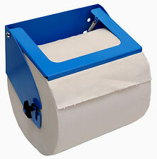 Powder coated aluminium paper towel roll (275mm) holder for van/workshop/garage