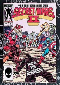 Secret Wars II #1 1985 Marvel Comics Captain America Iron Man X-Men, Magneto