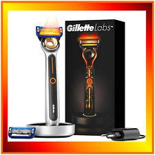 Gillette Labs Heated Rasoio 2 Lamette Kit per Uomo Barba Rasatura Blades Rasa