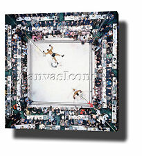 "MUHAMMAD ALI CANVAS PRINT POSTER PHOTO 20""x20"" MOTIVATIONAL BOXING vs WILLIAMS"