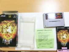 """SHIN MEGAMI TENSEI 2"" with Box & Manual Super Famicom SNES/sfc NTSC-J Japan Ver"