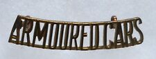 CANADA. THE SECOND ARMOURED CAR REGIMENT SHOULDER TITLE. Circa.1936-42
