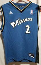 Washington Wizards Throwback # 2 John Wall Adidas men's Size Medium NBA Jersey