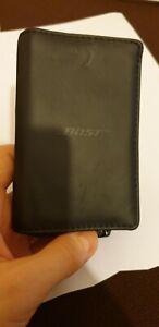 BOSE in-ear Headphones Earphones Soft Leather Style Zip Case bag MIE2 QC20 QC30