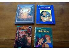 NEWER DISNEY MOVIES BOOK LOT Hercules, Prince of Egypt Treasure Planet