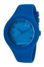 Puma Mens Form Blue Silicone Women's Watch PU103001003 Analogue Silicone Blue