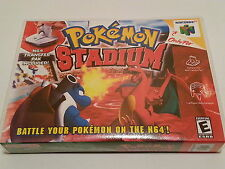 Pokemon Stadium High Quality Custom Collector N64 Case Only