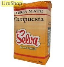 Y131 YERBA MATE LA SELVA COMPUESTA 1KG TEA HERBAL BLEND