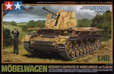 1:48 TAMIYA KIT CARRO ARMATO MOBELWAGEN GERMAN FLAKPANZER IV  ART  32573