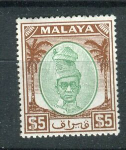 Malaya Perak KGVI 1950-56 $2 green & brown SG148  MLH
