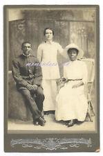 Black couple Salvation Army Costa Rico Latin central America Cabinet Photograph